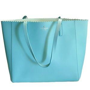 Kate Spade Tiffany color tote bag
